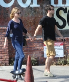 Emily Van Camp & Josh Bowman Lunch Together  36247