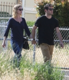 Emily Van Camp & Josh Bowman Lunch Together  36258