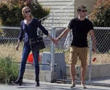 Emily Van Camp & Josh Bowman Lunch Together  36262