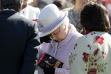 The Queen At Newbury Races 36287