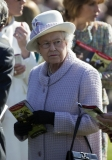 The Queen At Newbury Races 36294