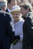 The Queen At Newbury Races 36297