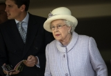The Queen At Newbury Races 36321
