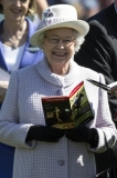 The Queen At Newbury Races 36322