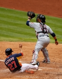 Cleveland Indians v Houston Astros 36375