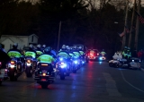 Slain MIT Patrol Officer Sean Collier Comes Home 36414