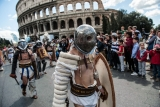 Romans Celebrate the 2,766th Anniversary of Their City 37389
