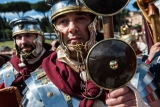 Romans Celebrate the 2,766th Anniversary of Their City 37590