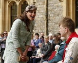 Kate Middleton Celebrates the Scouts 3 38104