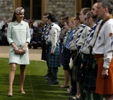 Kate Middleton Celebrates the Scouts 2 38131