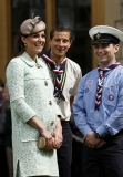 Kate Middleton Celebrates the Scouts 2 38133
