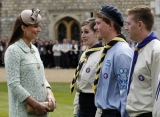 Kate Middleton Celebrates the Scouts 2 38137