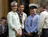 Kate Middleton Celebrates the Scouts 2 38138