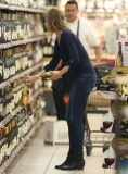 Emily Van Camp Shops at Gelson's 38387