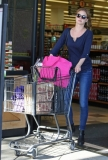 Emily Van Camp Shops at Gelson's 38453