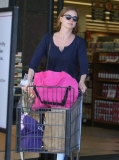 Emily Van Camp Shops at Gelson's 38457