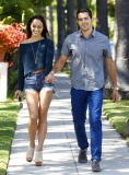 Jesse Metcalfe & Cara Santana All Smiles In Beverly Hills 38472