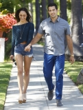 Jesse Metcalfe & Cara Santana All Smiles In Beverly Hills 38490
