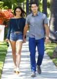 Jesse Metcalfe & Cara Santana All Smiles In Beverly Hills 38493
