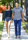 Jesse Metcalfe & Cara Santana All Smiles In Beverly Hills 38499
