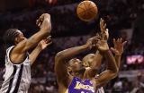 Los Angeles Lakers v San Antonio Spurs  38625