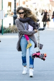 Sarah Jessica Parker Takes Her Twins to School 38649
