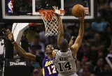 Los Angeles Lakers v San Antonio Spurs  38653