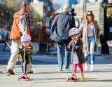 Sarah Jessica Parker Takes Her Twins to School 38709