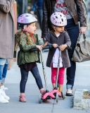 Sarah Jessica Parker Takes Her Twins to School 38736