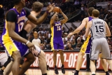 Los Angeles Lakers v San Antonio Spurs  38794