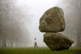 Weiss And Fleishi's Giant Boulder Installation Is Unveiled Outside The Serpen... 39071
