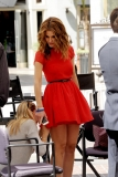 Maria Menounos Films 'Extra' at The Grove 40139