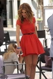 Maria Menounos Films 'Extra' at The Grove 40149