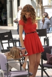 Maria Menounos Films 'Extra' at The Grove 40154