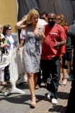 Maria Menounos Films 'Extra' at The Grove 40166