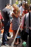 Maria Menounos Films 'Extra' at The Grove 40175