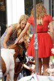 Maria Menounos Films 'Extra' at The Grove 40182