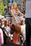 Maria Menounos Films 'Extra' at The Grove 40211