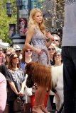 Maria Menounos Films 'Extra' at The Grove 40221