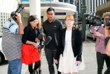 Julian Savea Arrives for Her Court Hearing 41195
