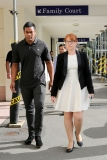 Julian Savea Arrives for Her Court Hearing 41240
