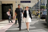 Julian Savea Arrives for Her Court Hearing 41283