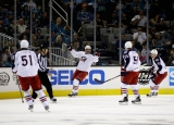 Columbus Blue Jackets v San Jose Sharks 41425
