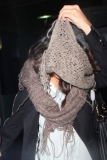 Selena Gomez Tries to Hide Her Face in LA 41824