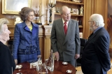 Spanish Royals Host Cervantes Awards Lunch 42337