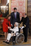 Spanish Royals Host Cervantes Awards Lunch 42361