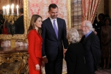 Spanish Royals Host Cervantes Awards Lunch 42408