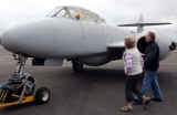 RAF Deliver Meteor Jet to the Jet Age Museum 42496