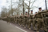 Mechanized Brigade to Parade Through London 42968