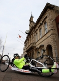 Claire Lomas Begins 400-mile Hand-cycle Challenge 43000